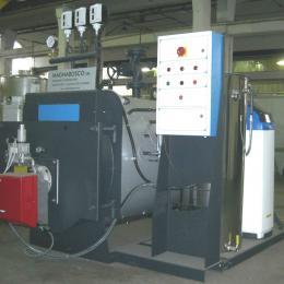 Generador de vapor bajo pessione.