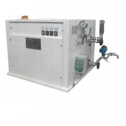 Generatore di vapore elettrico con scarico automatico