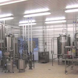 Équipement pour laiteries