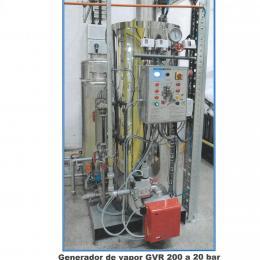 Generador de vapor 20 bar