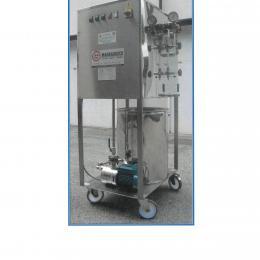 Generatore di vapore elettrico inox su ruote