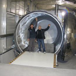 Autoclaves para fibra de carbonio
