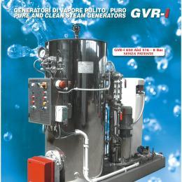 Generador de vapor inox
