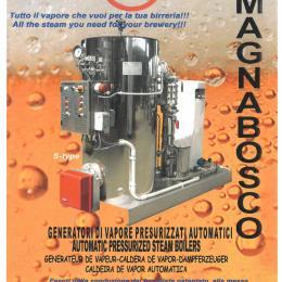Generador de vapor para cervecerías