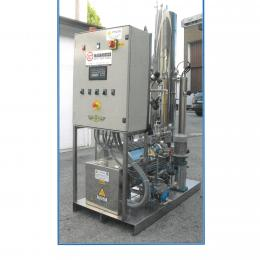 Electric steam generator with degaser