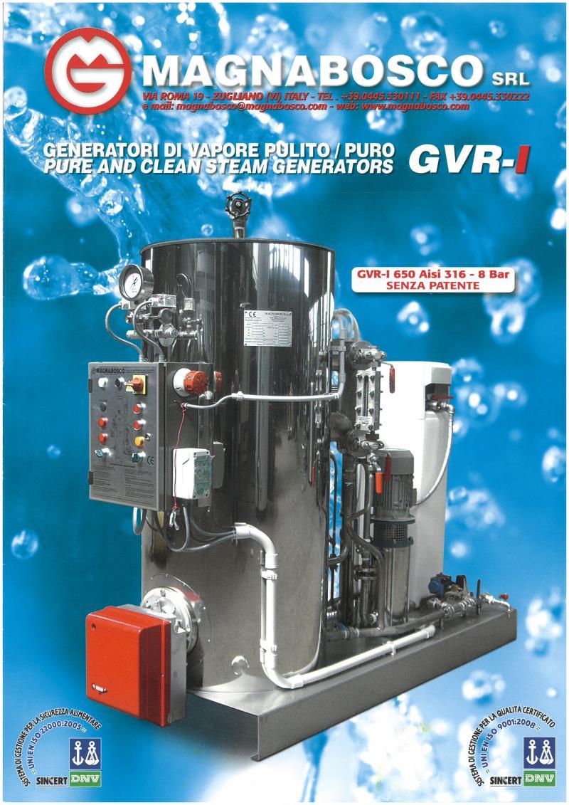 Steam Boilers inox | Magnabosco srl